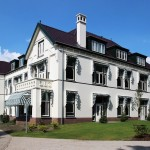 Villa Sonnehaert - zijgevel
