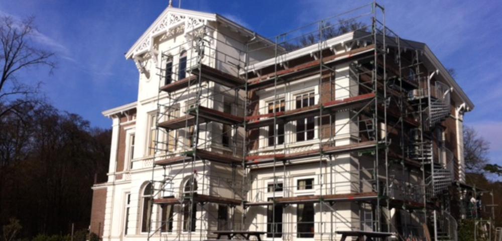 Heilijgers restauratie Jachthuis Beukenrode