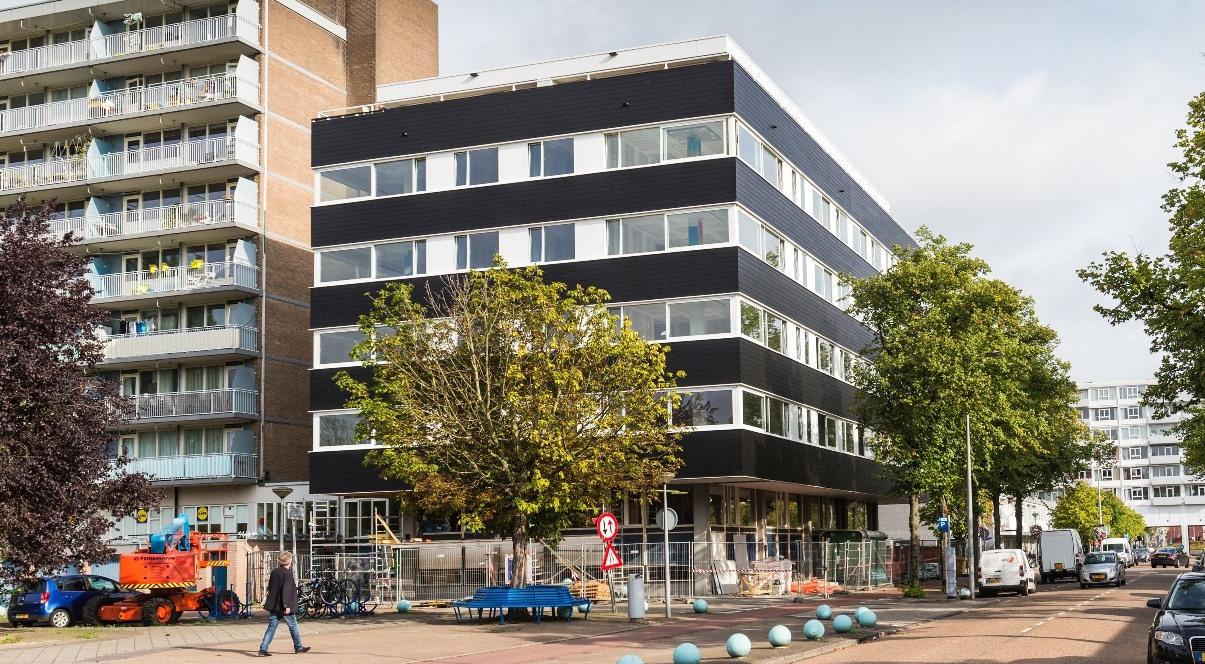 heilijgers transformatie De Toorop Overtoomseveld Amsterdam West