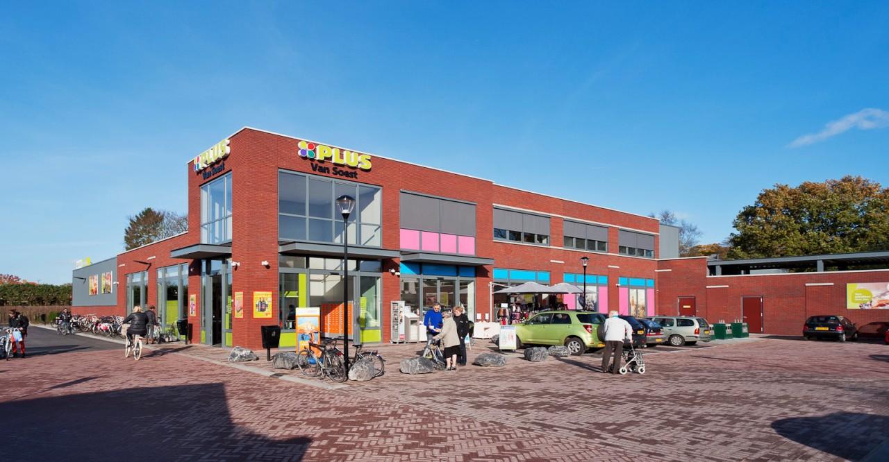 Heilijgers projectontwikkelaar Plus Supermarkt Rademakershof Soesterberg