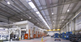 Heilijgers nieuwbouw bedrijfshuisvesting hal voestalpine Polynorm Lijn 5 Bunschoten