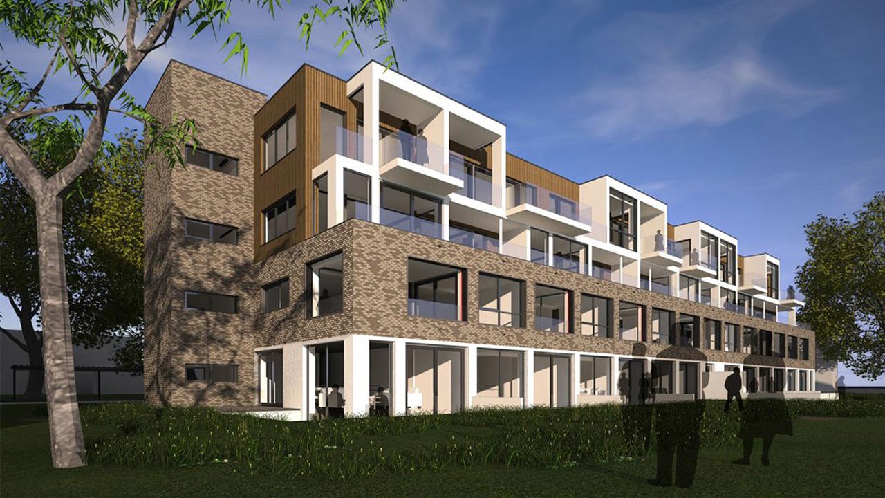 Transformatie vml bibliotheek naar appartementen Het Boekhuis Amersfoort - Heilijgers