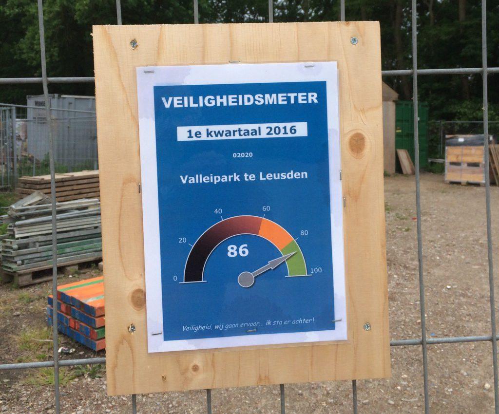 Veiligheidsmeter Heilijgers Bouwbedrijf