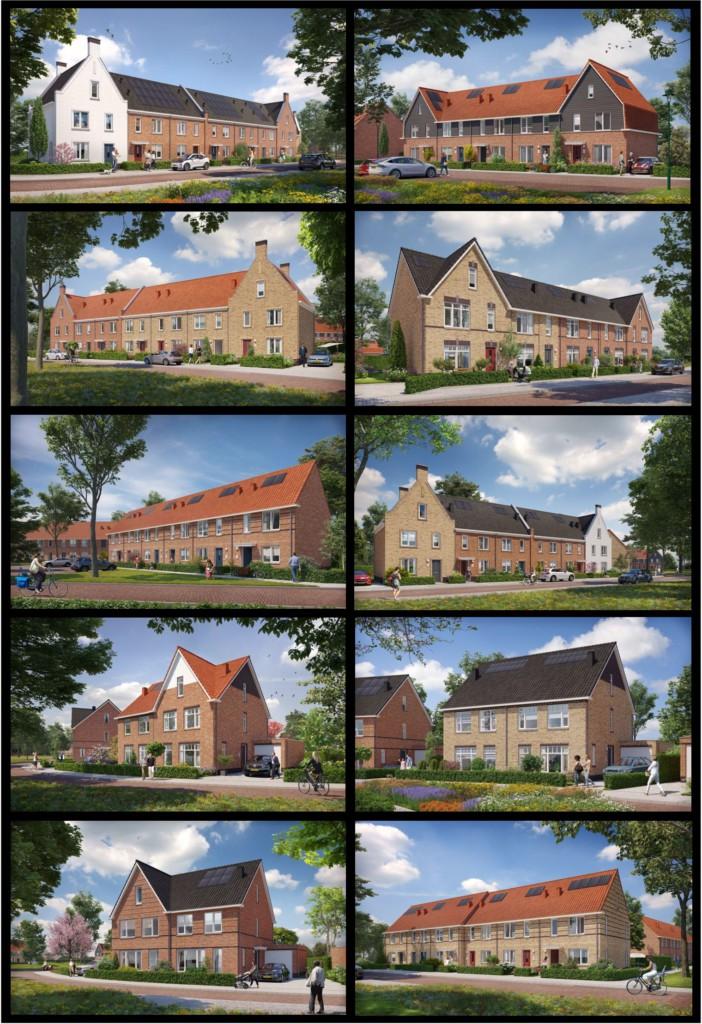 Holzenbosch Holzenhoef Voorthuizen nieuwbouw woningen Heilijgers Projectontwikkeling totaaloverzicht