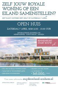 Open huis nieuwbouw woning Zuydereiland Schuytgraaf Arnhem Heilijgers