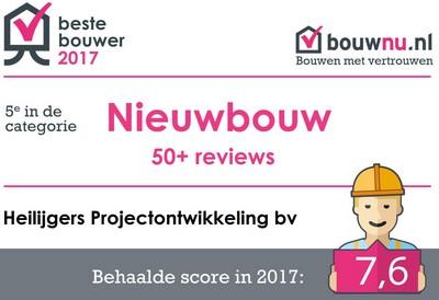 Beste Bouwer 2017 Heilijgers