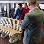Stadhuis krijgt 3D geprinte bank