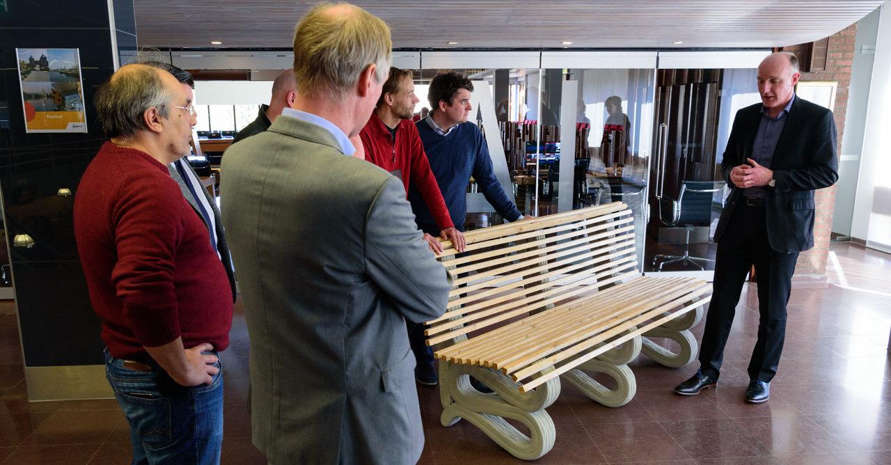 3D Betonprinten wethouder Stegeman Amersfoort