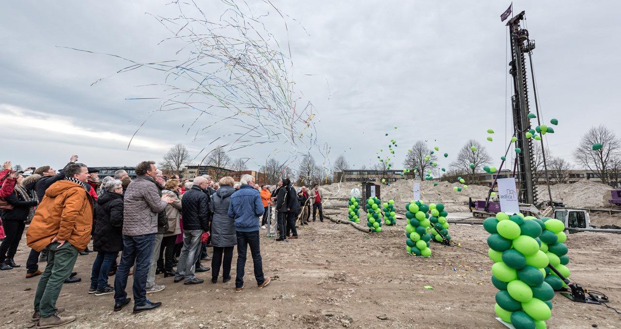 Heilijgers De Verborgen Tuinen Leusden start bouw appartementen