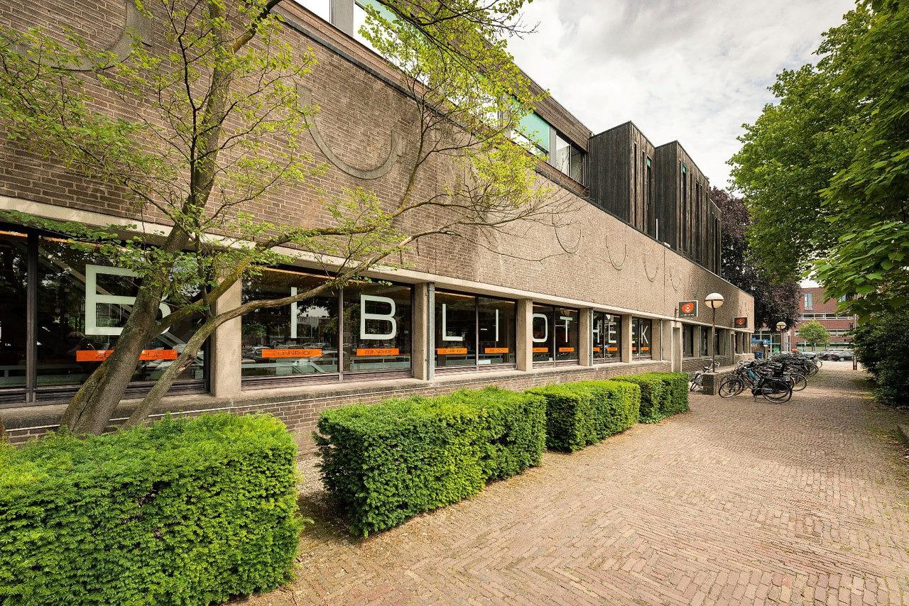 oude bibliotheek Zonnehof Amersfoort