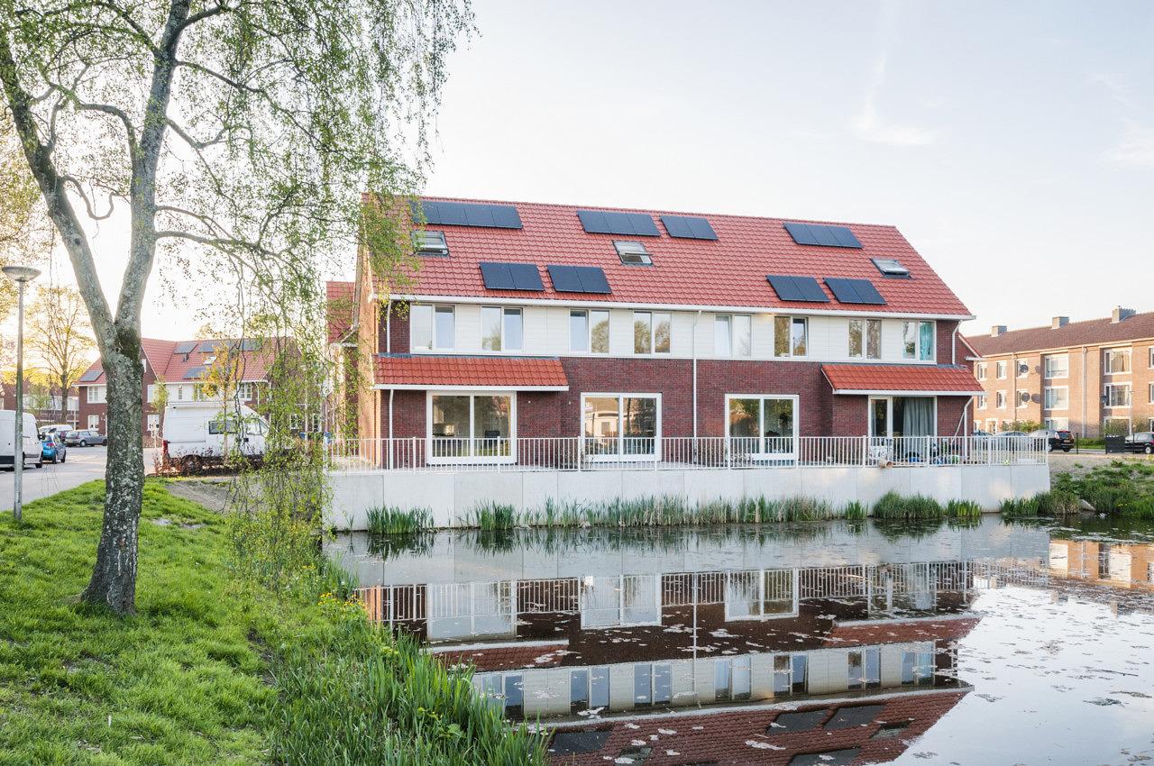Nova Zembla 37 nieuwbouw woningen Kortenaerstraat Amersfoort Heilijgers Projectontwikkeling Bouw