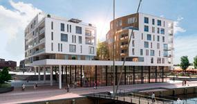 Heilijgers nieuwbouw appartementen Eemplein Amersfoort Eemerald grote projecten