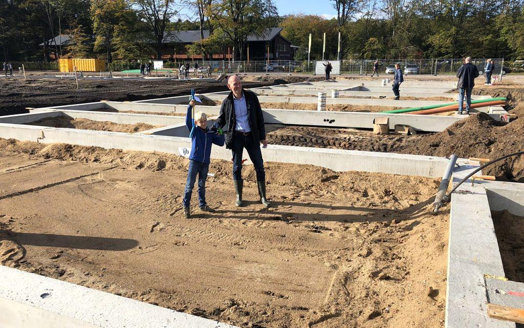 Heilijgers start bouw woningen De Groene Hoogte Soesterberg bouwplaats