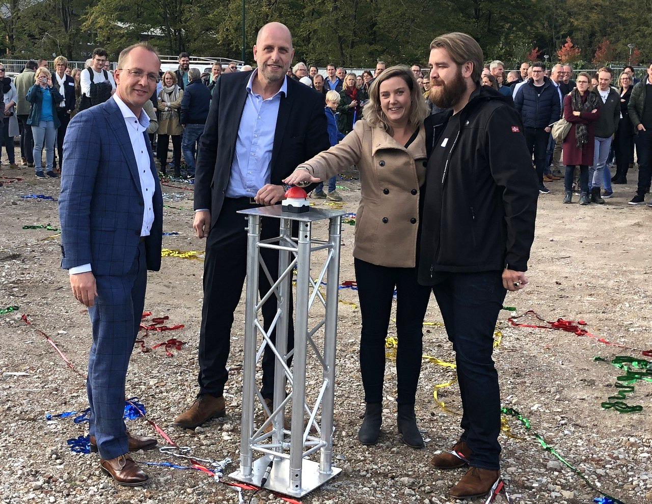 Heilijgers start bouw woningen De Groene Hoogte Soesterberg