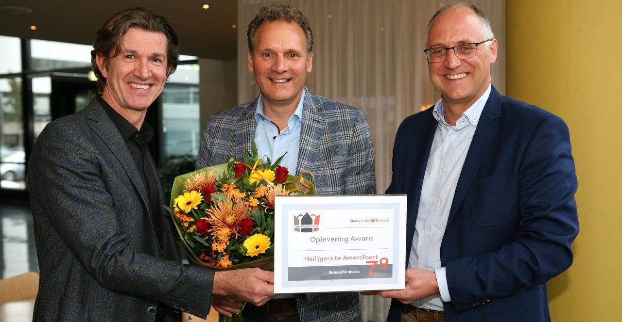 Oplevering Award Heilijgers Amersfoort Stichting Klantgericht Bouwen