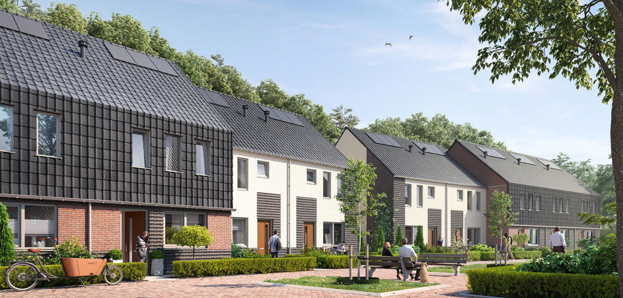 Valleipark Leusden nieuwbouw 11 woningen impressie Heilijgers Projectontwikkeling bouw te koop