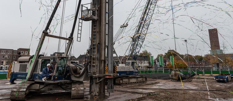 Start bouw appartementen Eemerald in Amersfoort