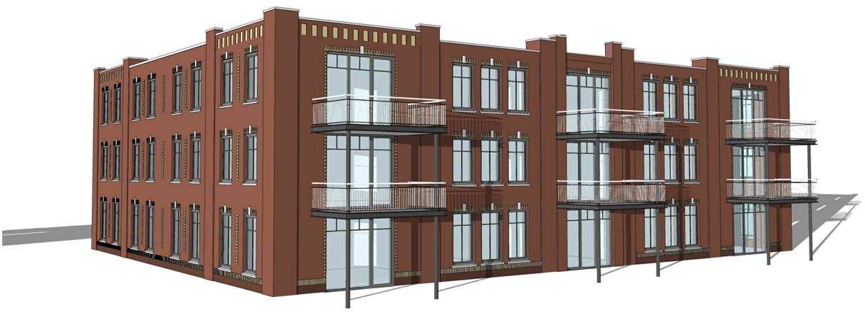 19 appartementen Voorthuizen Heilijgers Projectontwikkeling Becker Vastgoed