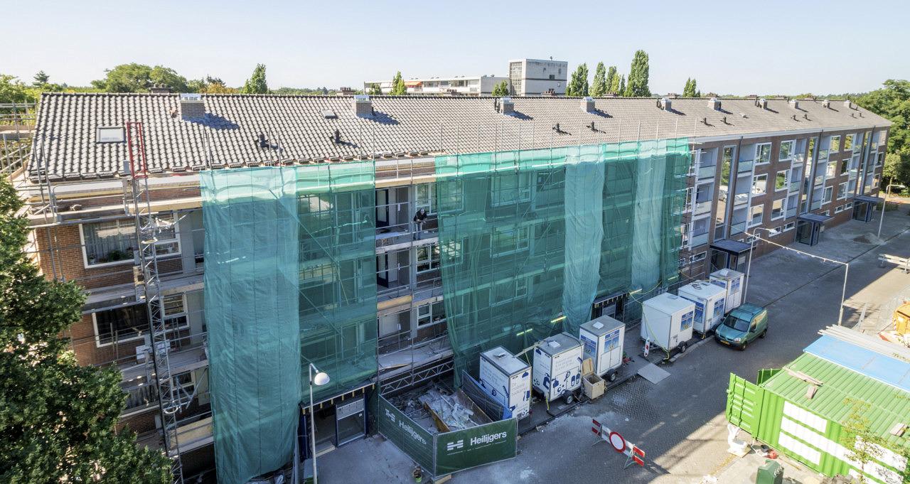 renovatie en verduurzaming 54 appartementen woongoed zeist