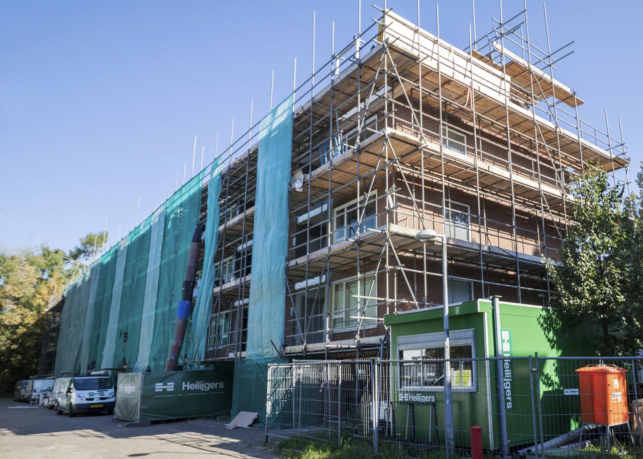 verduurzaming renovatie 54 appartementen woongoed zeist