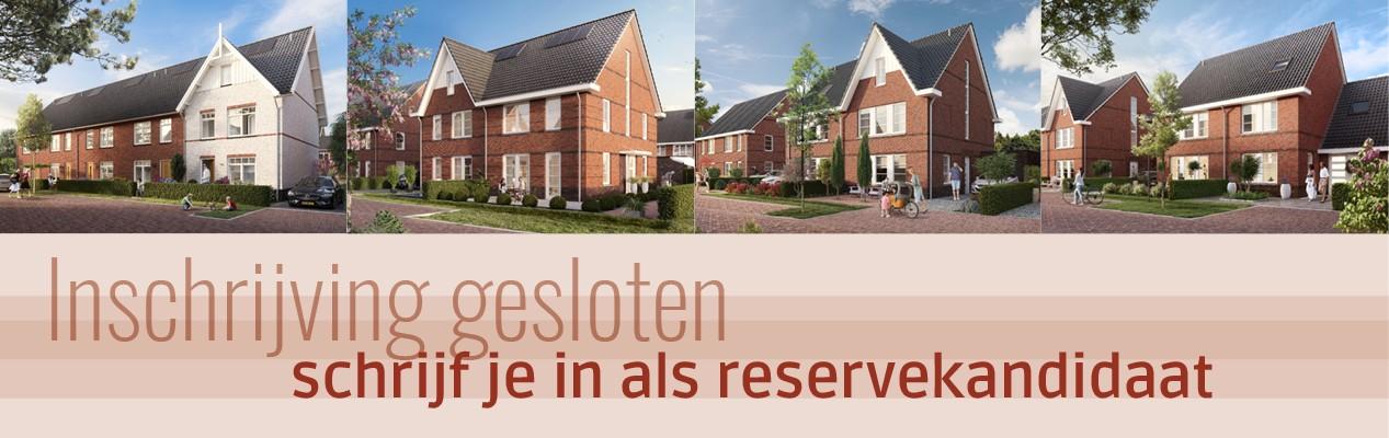 De Groene Hoogte Soesterberg- Inschrijving fase 3 gesloten