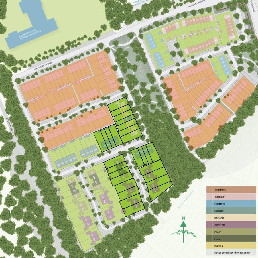 De Groene Hoogte Soesterberg woningen 2e fase