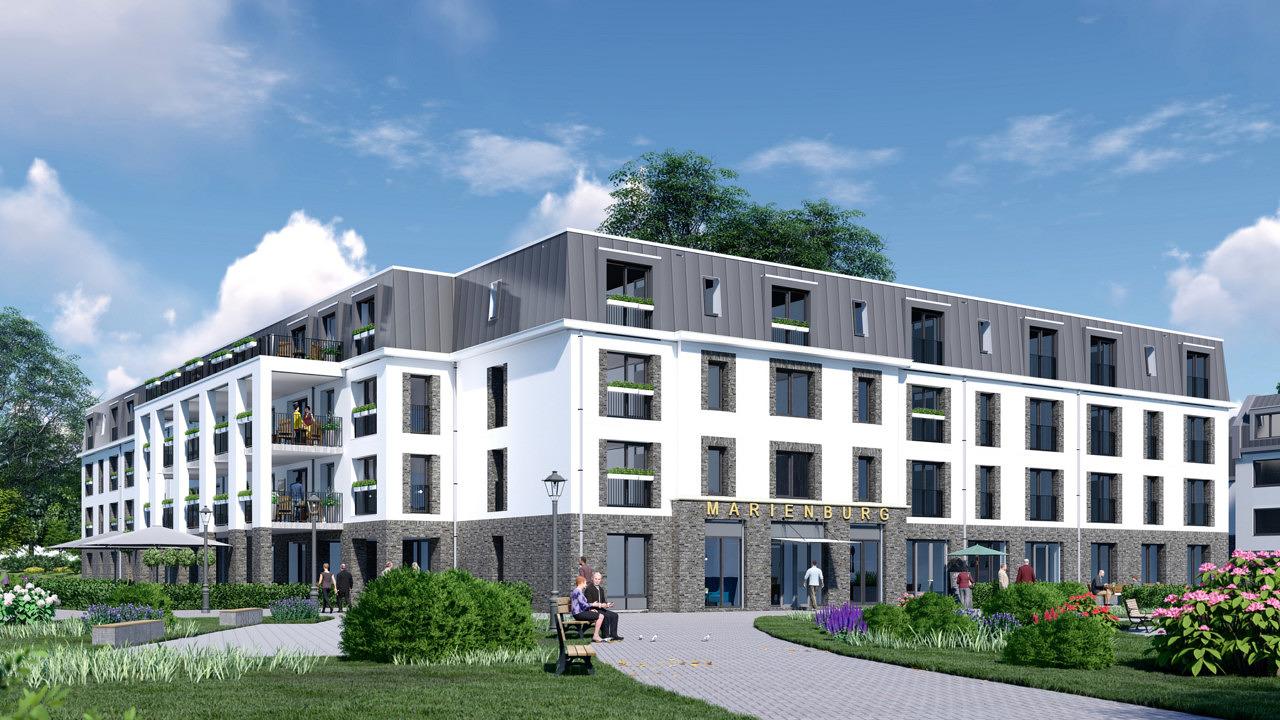 nieuwbouw zorghuisvesting verpleeghuis Marienburg Soest Beweging30 Woonzorg Nederland Heilijgers Bouw