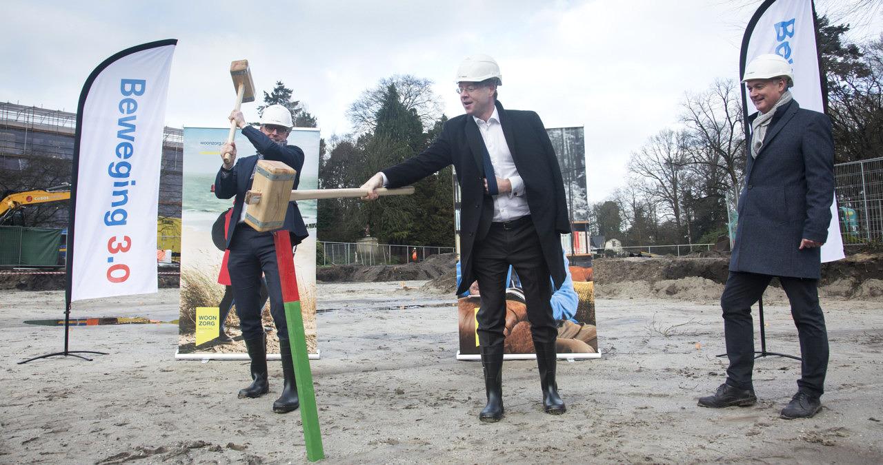 start bouw zorghuisvesting Marienburg Soest Beweging30 Woonzorg Nederland Heilijgers Bouw