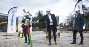start bouw verpleeghuis zorghuisvesting Marienburg Soest Beweging30 Woonzorg Nederland Heilijgers Bouw