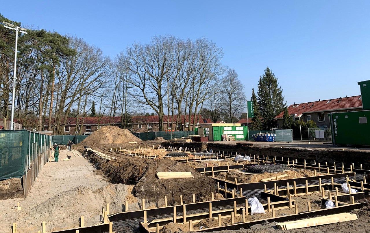 Bouw 24 appartementen RK woningbouwvereniging Leendert Edelmanlaan Zeist gestart - Heilijgers Bouw