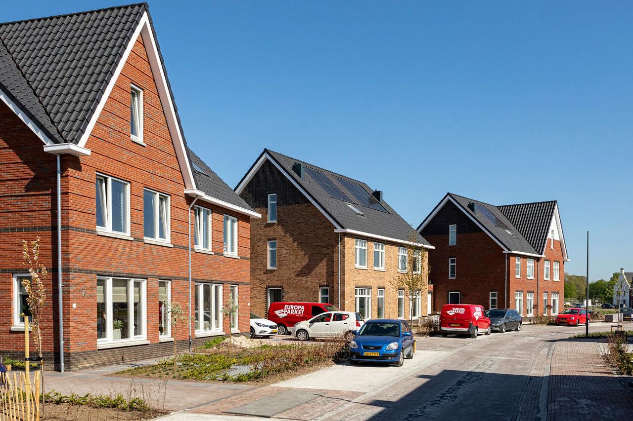 Holzenbosch Voorthuizen twee onder één kap woningen Heilijgers