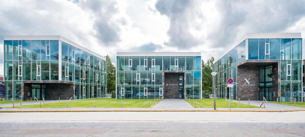 kantoorpaviljoens Telesto Zuidas Amsterdam - Heilijgers