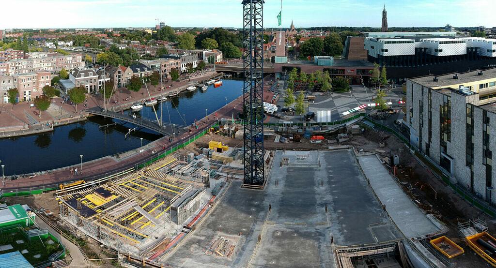 Eemerald Eemplein Amersfoort bouw september 2019 - Heilijgers