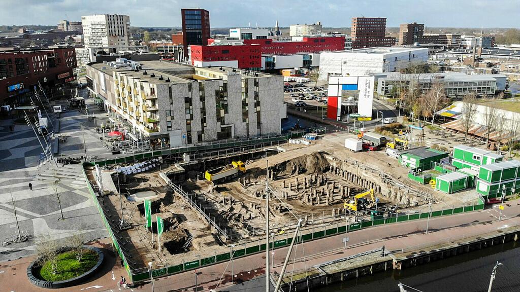 Eemerald Eemplein Amersfoort bouwput Heilijgers