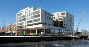 Eemerald nieuwbouw appartementen horeca Eemplein Amersfoort - Heilijgers