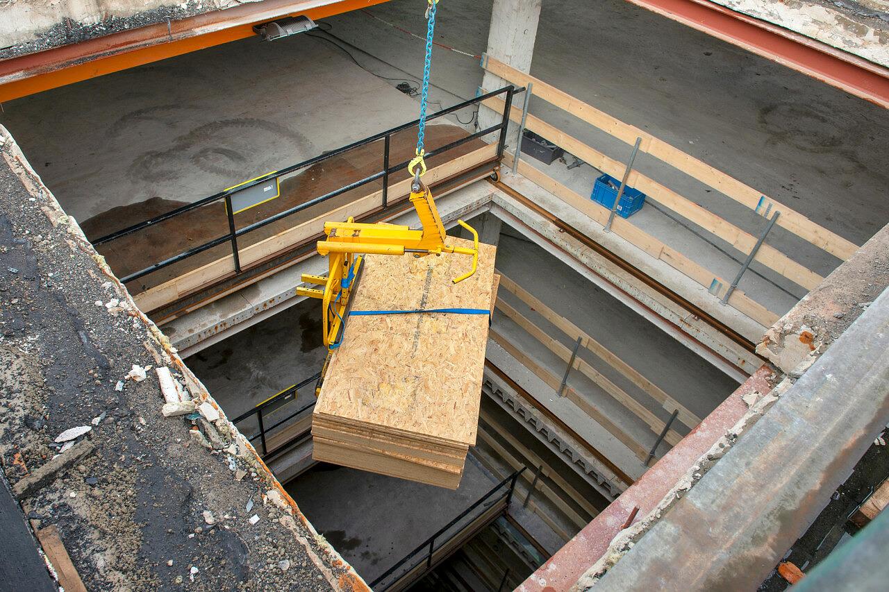 House Modernes De Blauwe Planeet Oude Gracht Utrecht logistiek- Heilijgers Bouw