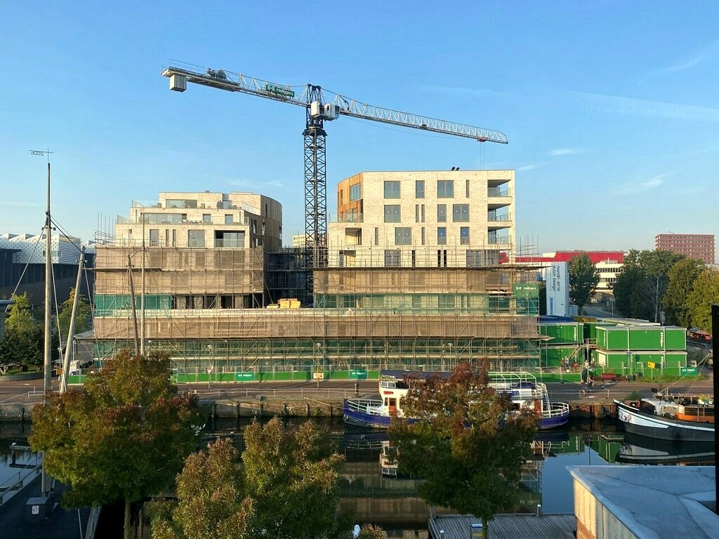 nieuwbouw appartementen Eemplein Amersfoort - Heilijgers - Dennis Stenacker