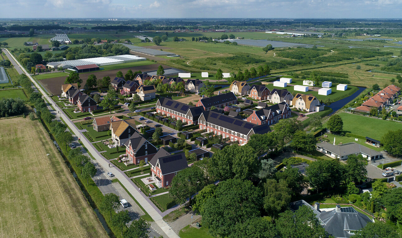 nieuwbouw woningen De Oude Boomgaert Rijsoord Ridderkerk Heilijgers