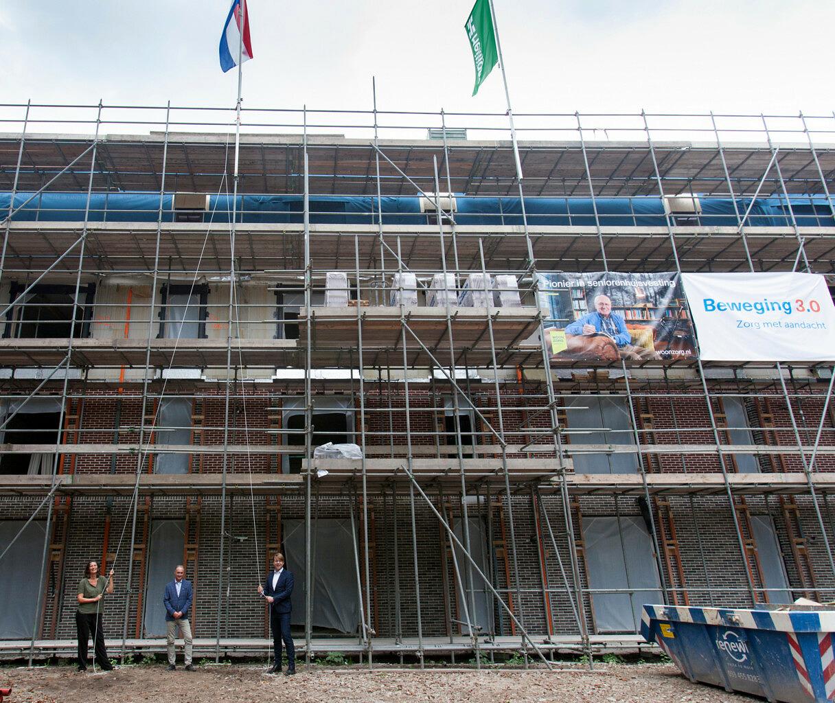 nieuwbouw verpleeghuis Marienburg Soest - hoogste punt - Beweging 3.0 Woonzorg Nederland