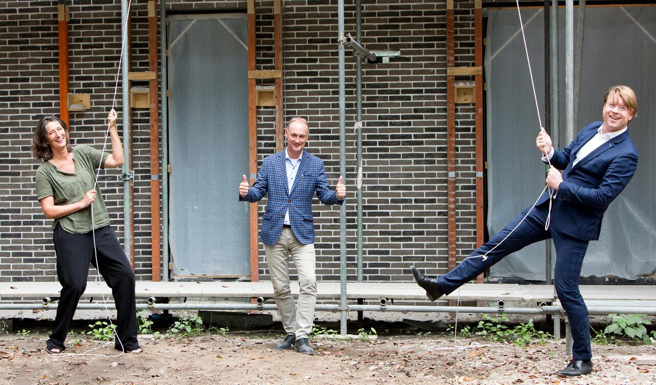 nieuwbouw verpleeghuis Mariënburg Soest - hoogste punt - Paula van der Tuin - Herman Broekhuizen - Micha van Akkeren Beweging 3.0 Woonzorg Nederland