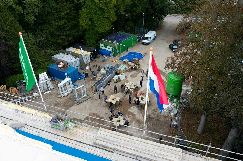 nieuwbouw verpleeghuis Marienburg Soest - hoogste punt - Woonzorg Nederland - Beweging3.0