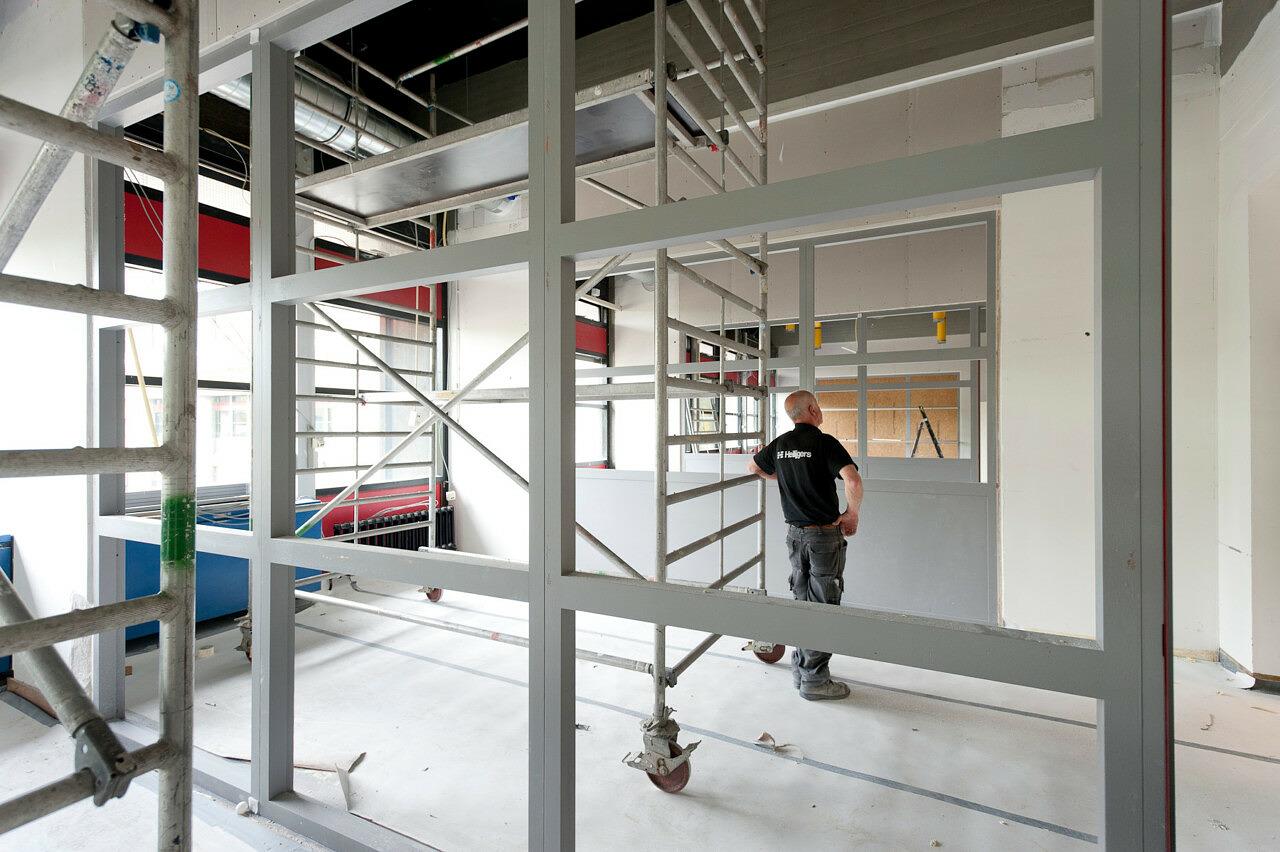Brandveiligheidsvoorzieningen Kruytgebouw Universiteit Utrecht Heilijgers Bouwbedrijf 3