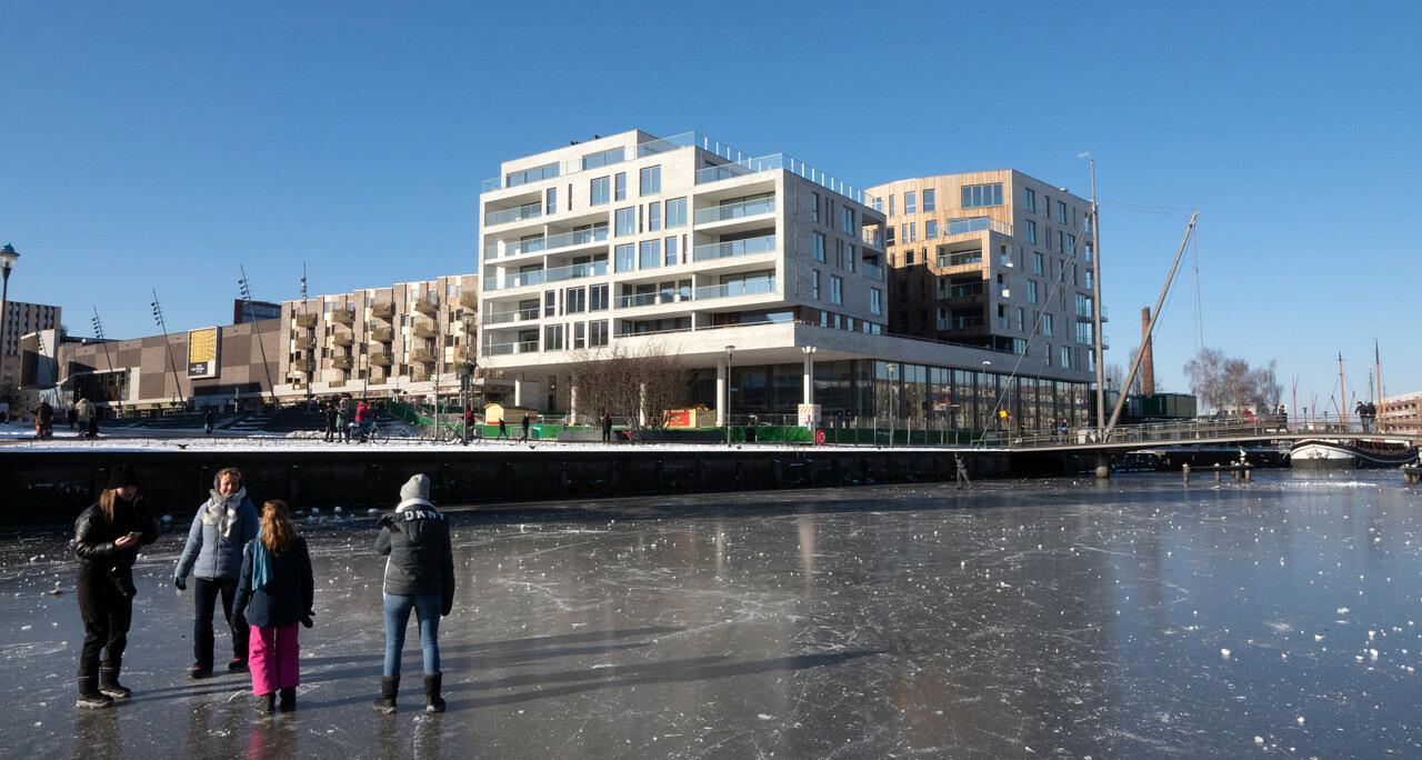 Eemerald nieuwbouw appartementen commerciele ruimten horecaEemplein Amersfoort - Heilijgers Vastgoed