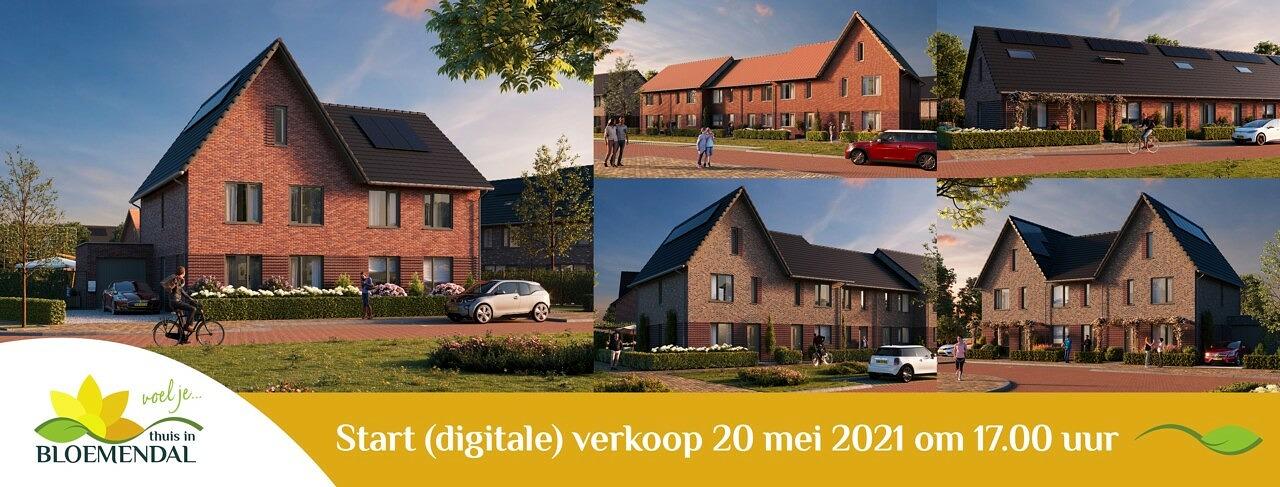Thuis in Bloemendal Barneveld Bloemenvelden start online verkoop