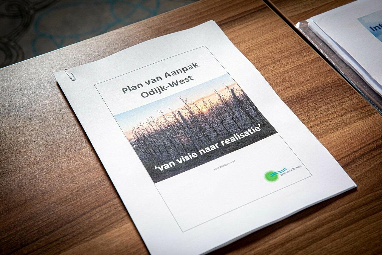 Intentieovereenkomst woningbouw Kersenweide Bunnik Odijk - plan van aanpak