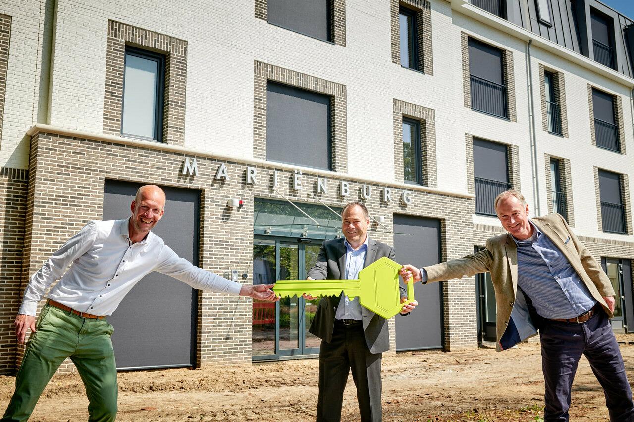 oplevering verpleeghuis Marienburg Soest woonzorgcentrum Beweging 3 Woonzorg Nederland