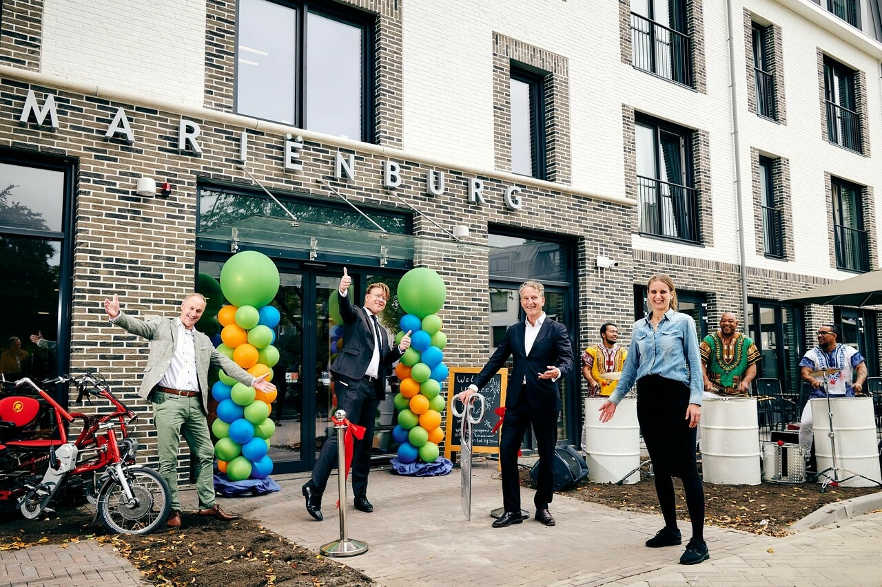 Opening verpleeghuis Marienburg Soest - Woonzorg Nederland - Beweging 30 - Heilijgers Bouw