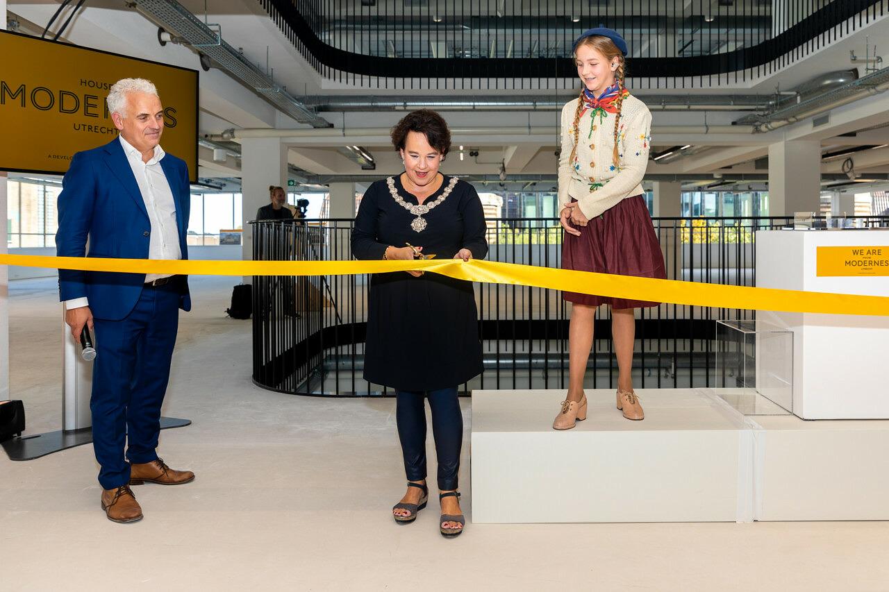 House Modernes Utrecht opening burgemeester Sharon Dijksma Heilijgers 1